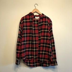 UO Red/Yellow/Black Flannel